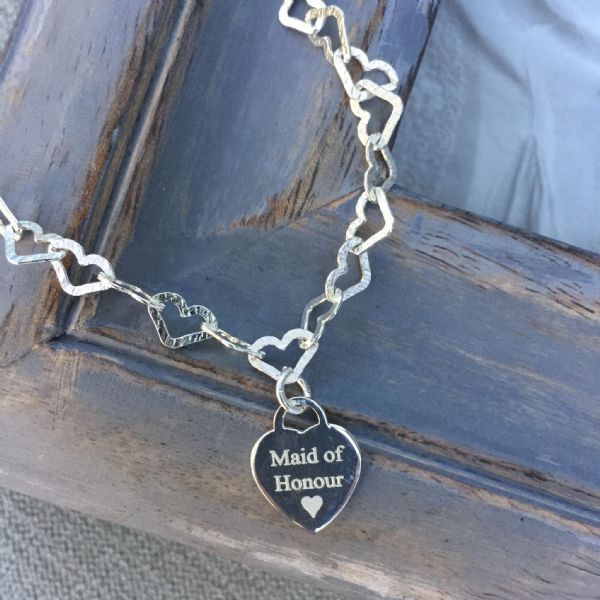 Bridesmaid's gift bracelet - FREE engraving